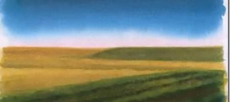 Рисуем летний пейзаж акварелью