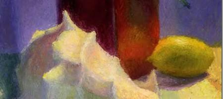 Этюд в цвете: набросок композиции