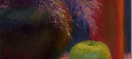 Этюд в цвете: начало работы