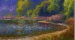 Рисунок берега реки