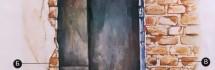 Как нарисовать старую кирпичную стену