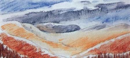 Цветные карандаши: водорастворимые