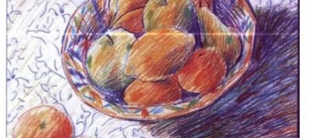 Цветные карандаши: цвет и тон