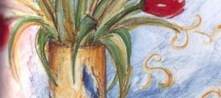 Линия и отмывка: акварель и карандаши