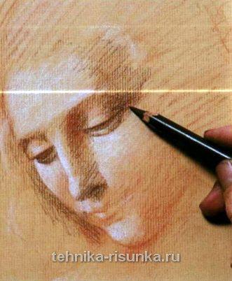 Рисую как Да Винчи