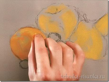 апельсин обретает форму