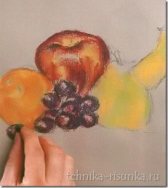 форма винограда