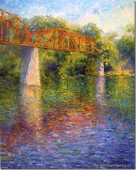 рисунок моста