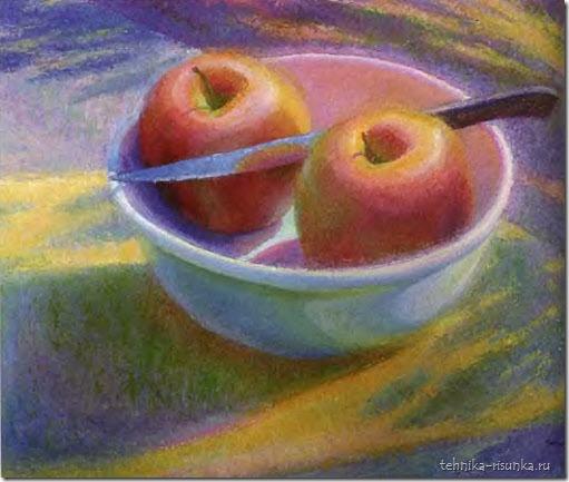 рисунок яблок