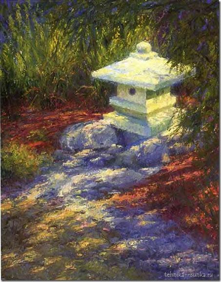храмовый сад