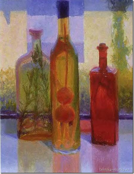 рисунок бутылок