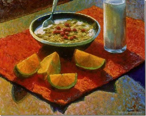 рисунок завтрака