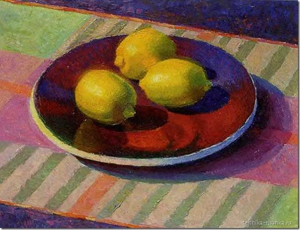 рисунок лимонов