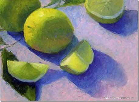 рисунок лимона