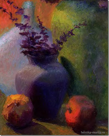 рисунок вазы и граната