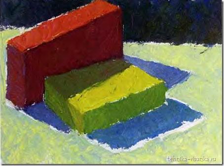 основные массы цвета