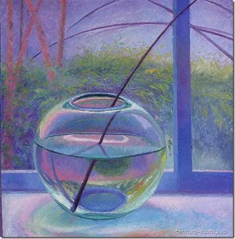 рисунок вазы с соломинкой