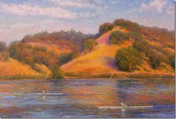 пейзаж реки
