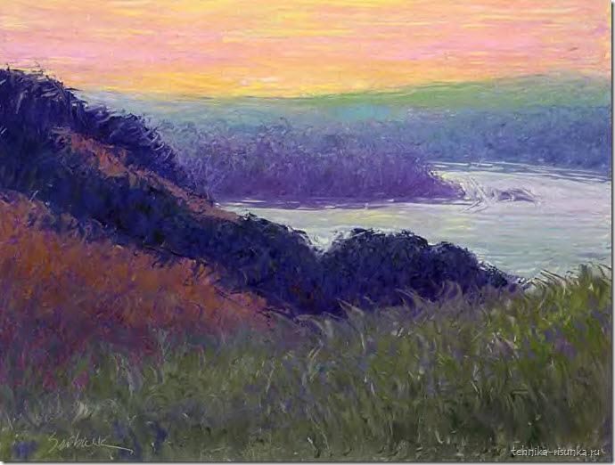 пейзаж: перед рассветом