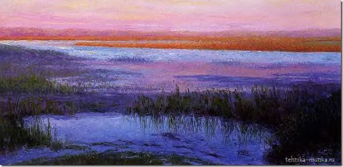 пейзаж озера