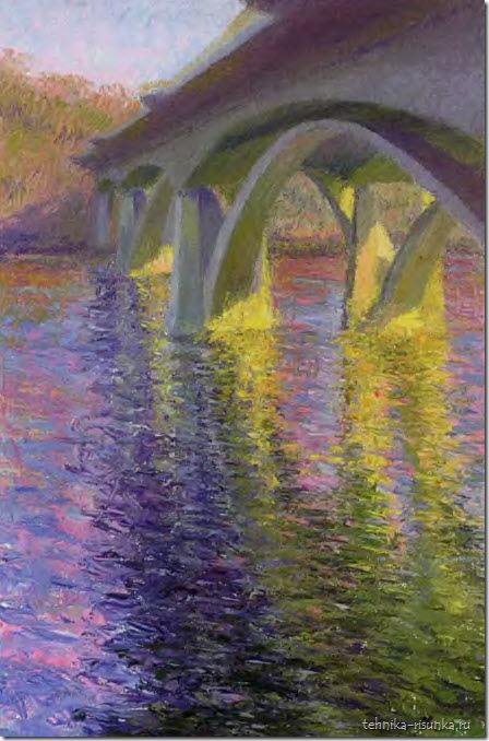 мост, полдень