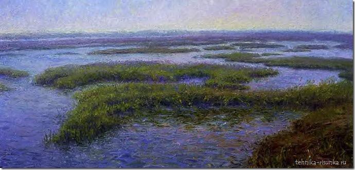 пейзаж болота