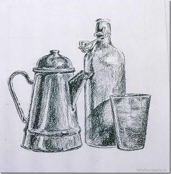 натюрморт с кофейником