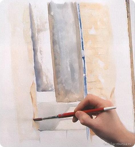 кирпичная стена: дверной проем