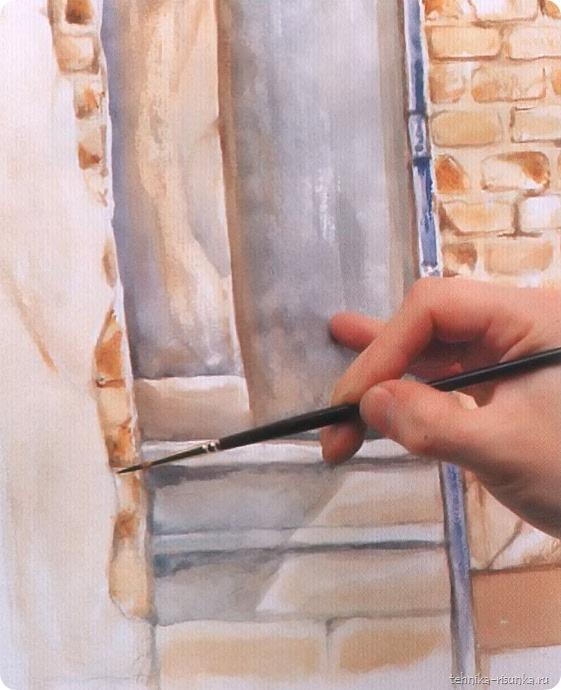 кирпичная стена: детализация ступеней