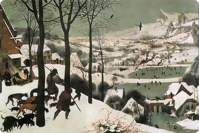 Питер Брейгель Старший, Охотники на снегу