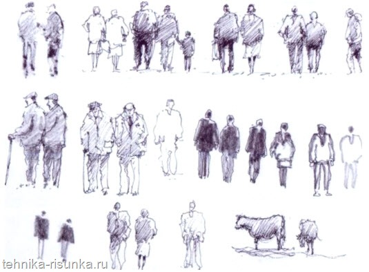 Нарисованные фигуры