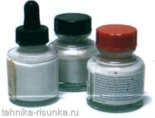 Серебряные чернила