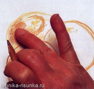 Смешивание пальцев