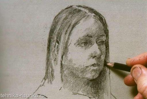 Рисунок углем 1