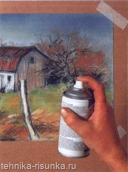 Фиксатор рисунка