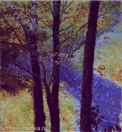 Рисунок ручья
