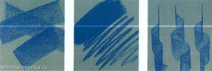 Штрихи мягкой пастелью